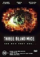 3 Three Blind Mice DVD 2003  Edward Furlong Emilia Fox - Rare OOP Thriller Movie
