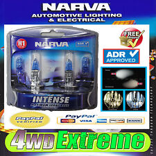 NARVA H1 GLOBES BLUE INTENSE 12V 55W 48470BL2 LIGHTS HEADLIGHTS PARKER T10 CAR