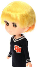 Petworks Sekiguchi Odeco Chan doll Wig two tone YELLOW X ORANGE