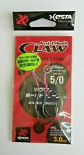 """Ami XESTA ASSIST HOOK """"HOLD TUNE""""  size 5/0 (3 cm)-Made in Japan"""