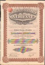 Compagnie Générale AÉRIENNE (ANVERS BELGIQUE) (U)