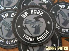 SNAKE PATCH - TIREUR QUALIFIE SIG PRO SP2022 ! Humour ARTICLE FANTAISIE non régl