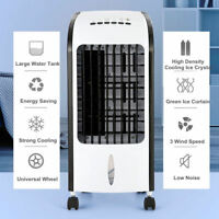 Evaporative Air Cooler Fan Portable Indoor Cooling Humidifier w/ Remote Control
