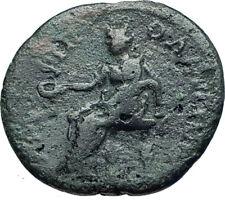 ANTONINUS PIUS 138AD Amphipolis Authentic Ancient Roman Coin TYCHE i66129