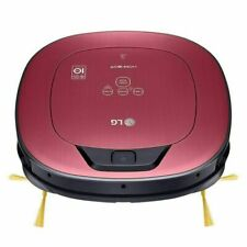 LG HOM BOT VRD820 MRPC Metal Red Robot Cleaner Dual Camera System Pet Brush NEW