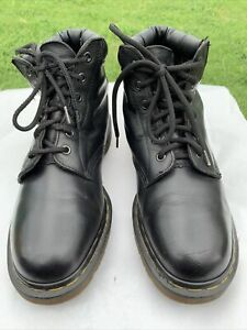 Doc Dr. Martens 939 Made in England Black Lace Up Boots Air Soles Men's Size 9