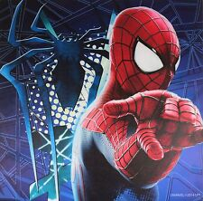 New Marvel Amazing Spider-man Blue Wall Canvas Poster Decor Art Year 2014 Model