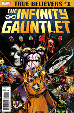 True Believers INFINITY GAUNTLET #1 (Reprint / 1991 / NM)