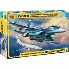 "Zvezda 7314 Su-30SM ""Flanker-C"" (Sukhoi) /russian air superiority fighter/ 1/72"