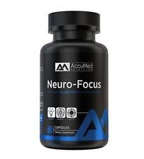 AccuMed Nutrition Neuro-Focus Cognitive Memory Enhancement 60 ct 6/19 FAST! DE7