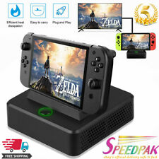 Type-C To HDMI Converter Charging Dock Station Cooler Stand For Nintendo Switch