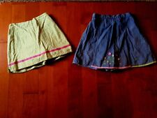 Two Hartstring's Girl's Skorts Both Size 6x-in Very Good Condition!