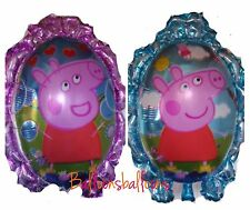 "Large Peppa Pig Helium Balloon Double Sided 29"" Birthday Party"