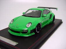 1/18 Track Collections TC18003F LB Porsche 997 Turbo Green  Miniwerks