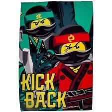 LEGO NINJAGO Cinéma COUVERTURE POLAIRE COUP DE pied arrière enfants