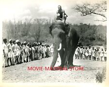 "Jock Mahoney Tarzan Goes To India Original 8x10"" Photo #M2514"