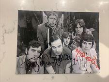 More details for genuine monty python cast hand signed photo, 20cm x 15cm