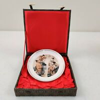 Vintage Beijing THE GREAT WALL SHERATON Hotel Plate in Presentation Box