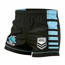 CRONULLA Sharks NRL 2020 Home Supporters Shorts Size S