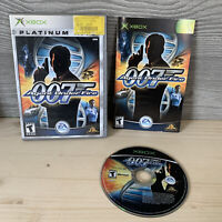 007 Agent Under Fire XBOX Complete Platinum Hits Manual