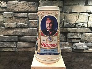 Hamm's Beer 1865-1993 Commemorative Stein New in Box 1993