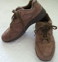 ROCKPORT mens brown suede walking shoes tennis shoe comfort style lace up sz 8