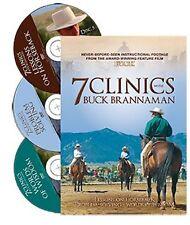 7 Clinics with Buck Brannaman: Discs 5,6,7 Horsemanship - BRAND NEW!