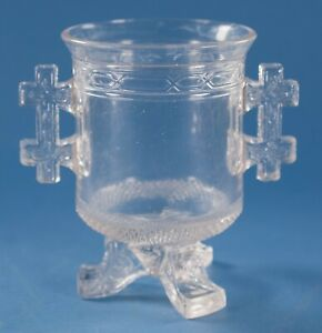 EAPG LaBelle Glass Queen Anne Spooner Footed 1879