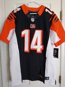 NEW SZ 44 L Mens Cincinnati Bengals Andy Dalton Nike Elite NFL Sewn Jersey $295