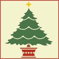 CHRISTMAS TREE STENCIL 2 - CHRISTMAS - The Artful Stencil