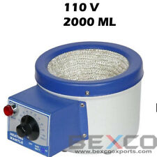 Brand BEXCO Heating Mantle for flask 2000 ml Capacity 110V Free Shipping