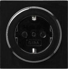 Gira S-Color schwarz, STECKDOSE 018847