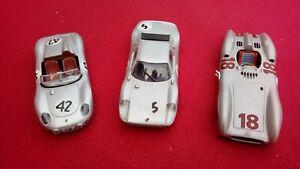 Lot Porsche Mercedes 1/43