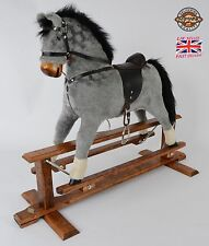 Beautifully handmade rocking horse MARS DAPPLE GREY from MJMARK BRAND NEW !!!