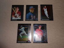 1999 Bowman Chrome lot of five with rookies