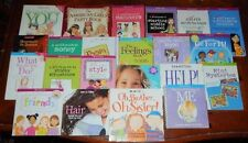 Lot of 24 American Girl Books Guide Care Keeping of You Party Babysitter's Kit