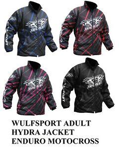 Wulfsport Adult HYDRA jacket S-XL enduro motocross water resistant fleece lined