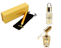 24K Bioaqua Gold Skin Moisturising Whitening Serum Energy Beauty Bar Massage UK