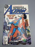 Superman Action Comics No. 584 White Teen Titans John Byrne Dick Giordano