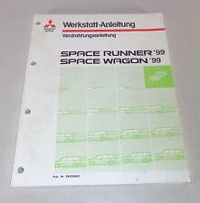 Werkstatthandbuch Mitsubishi Space Runner / Wagon Elektrik Schaltpläne von 1999