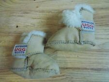 AUSTRALIAN UGG UNISEX CHESTNUT BROWN BABY BOOTS 6-12 MONTHS NEW WITHOUT BOX