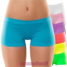 Pantaloncini bimba bambina culotte shorts intimo fitness sport nuovi YQ7079