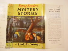 Young Readers Mystery Stories, Charles Coombs, Dust Jacket Only