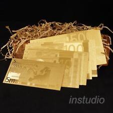 European Euro Golden Color Foil Round Commemorative Coin Coins Collection  BN