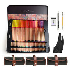 Marco Renoir Fine Art Professional Artist 100 Colored Pen Drawing Set Sketching