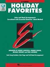 Essential Elements Holiday Favorites Bb Clarinet Book and Audio 000870007