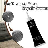 Leder Vinyl Reparatursatz für Möbel Autositze Sofa Kratzlöcher Rip Jacke E9B1