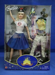Disneyland 50th Anniversary Then & Now Barbie Mouseketeer Doll 2005 NRFB