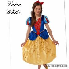 ☀️ Beautiful Snow White Fancy Dress Costume Age 5-6 Years