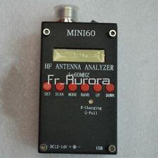 SARK-100 Mini60 HF ANT SWR Antenna Analyzer Meter 1-60Mhz For Ham  Radio